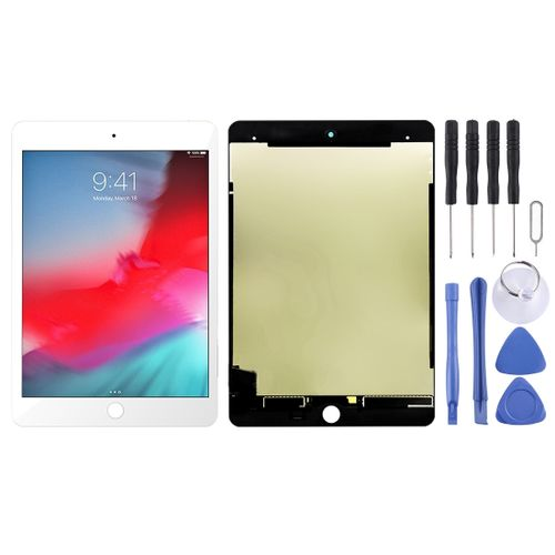 LCD Screen and Digitizer Fullembly for iPad Mini (2019) 7.9 inch A2124 A2126 A2133 (White)