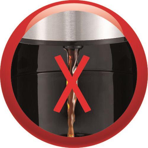 Moulinex Cafetière filtre Subito FG1518 - 6 tasses, Filtre permanent