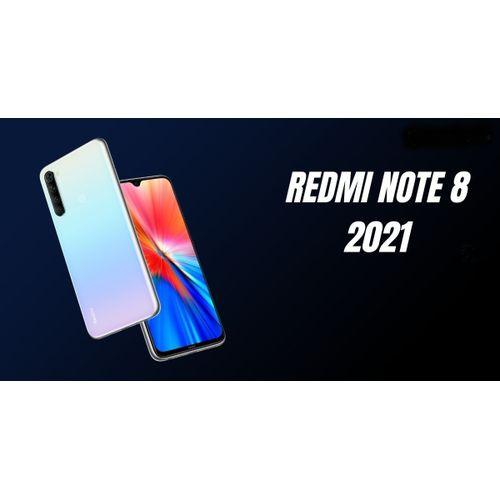 Redmi Note 8 2021 - 6.3'' FHD - 4 Go - 64 Go ROM - Dual Sim - 48Mp -Blanc