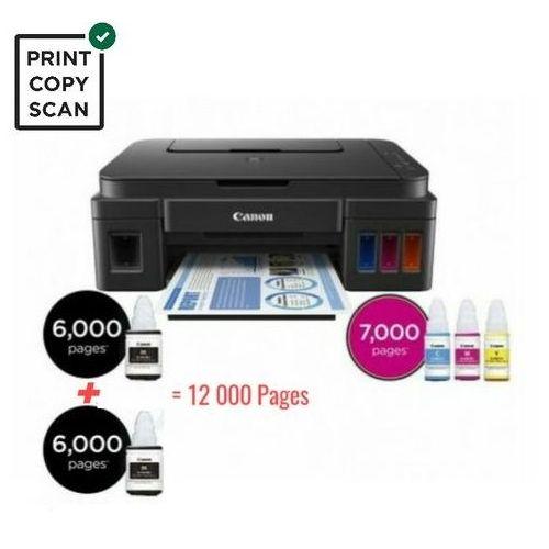 PIXMA G2411 Imprimante 3en1 à réservoir ( Scan / Copie / Print ) 12000 Pages Noir / 7000 Pages couleur