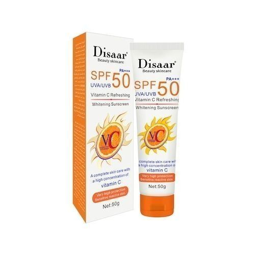 Disaar Crème Solaire Crème de Protection UV à la vitamine
