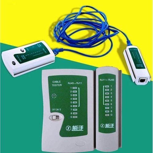 Testeur Outil Internet Pro Câble Réseau Test De Capacité Haut Débit Connexion Vitesse Pour Lan Rj45 Rj11 Rj12 N21cl Cat 5 Ethernet Ligne