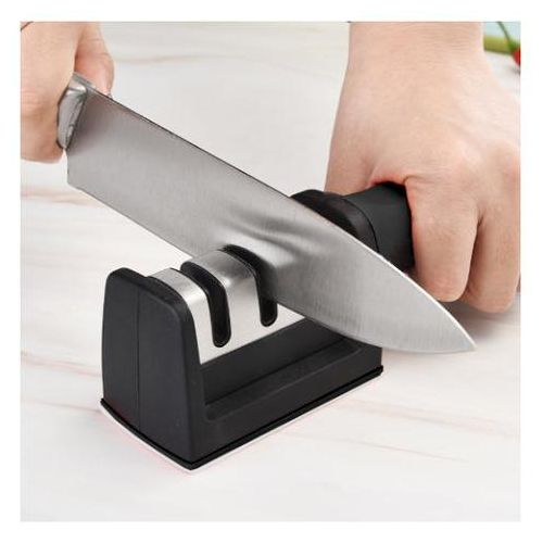Puissant TRIPLE Aiguiseur de couteaux de cuisine professionnel