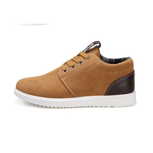 Fashion Men casual shoes Low Top Taylor Shoes-Brown