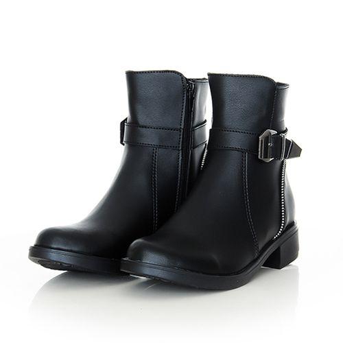 Bottine noir - Elegance et confort