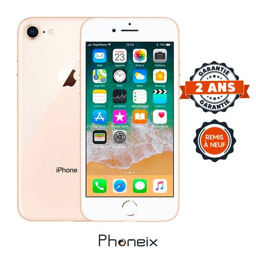 PHONEIX IPHONE 8 256GB ,GOLD – Reconditionné