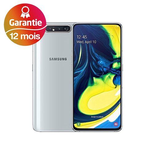 """Galaxy A80, 6.7"""", 8Go, 128Go - Argent - Garantie 1 an"""
