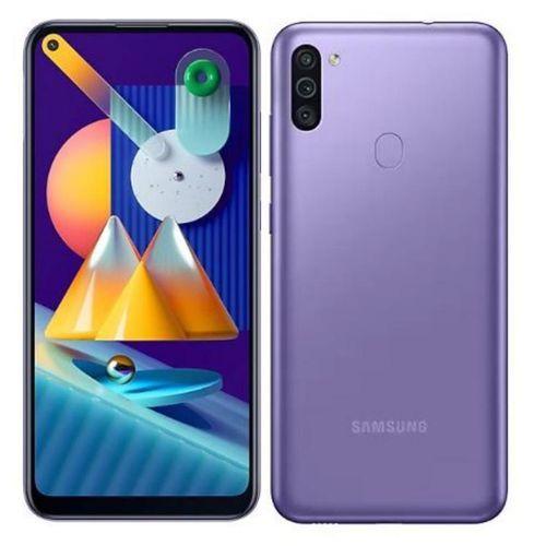 "Samsung Galaxy M11 6.4"" (32Go, 3Go) Android 13MP+2MP+5MP/8MP - Violet"