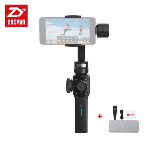 Smooth 4 3-Axis Handheld Gimbal Stabilizer YouTube Video Vlog Tripod for iPhone 11 Pro Xs Max Xr X 8 Plus 7 6 SE Android Smartphone Samsung Galaxy Note10 S10 S9 S8 S7