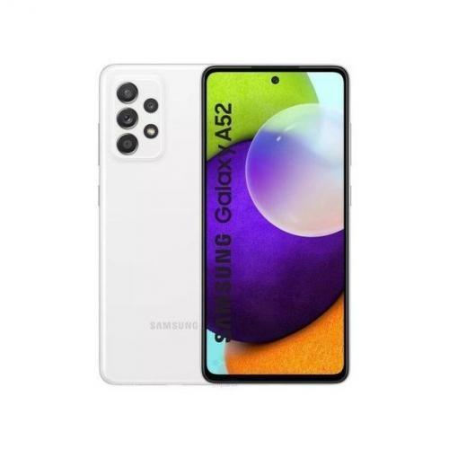 """Galaxy A52 6.5"""" (8Go, 128Go) 64MP+12MP+5MP+5MP/32MP Android - Blanc"""