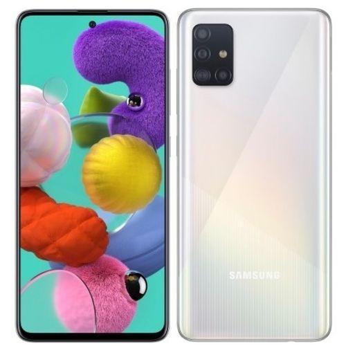 Galaxy A51 - 6.5'' - (6GB - 128GB) - Android10.0 - 4G - Camera 48MP-Blanc