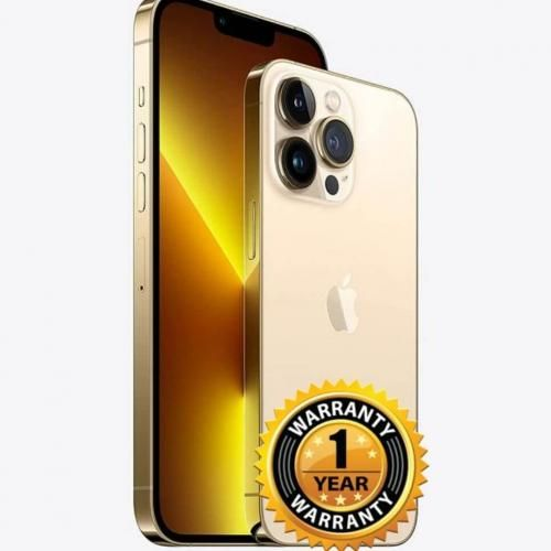 """iPhone 13 Pro 128GB Or 6,1"""" Gold 6Gb RAM A15 Bionic Magsafe iOS Mode Cinematique"""