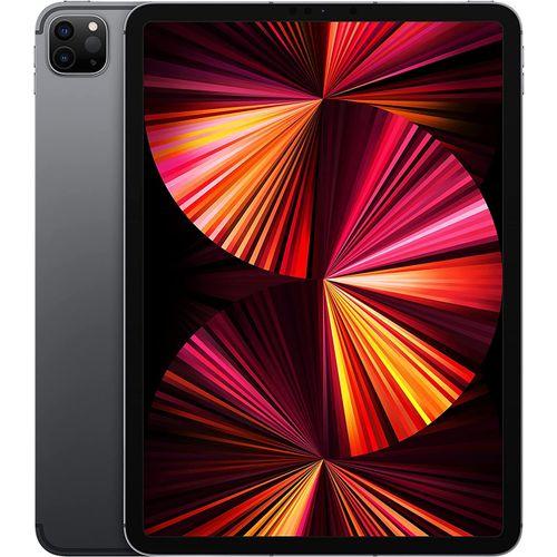"""iPad Pro 11 """" (3e génération) 2021 Wifi + 5G Cellulare mmWave 256 Go Gris Sideral"""
