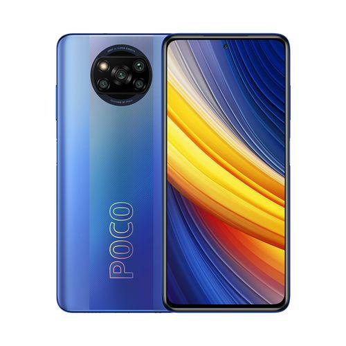 """POCO X3 Pro 6,67"""" 4G (8Go, 256Go) 48MP+8MP+2MP+2MP/20MP MIUI 12 - Bleu"""