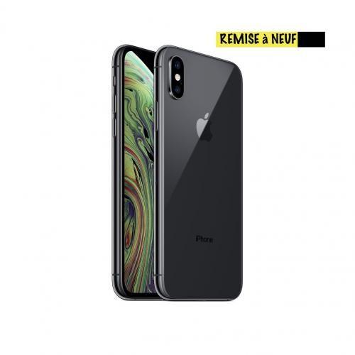 """iPhone XS, 5.8"""", 64Go - Noir - Remise à neuf"""