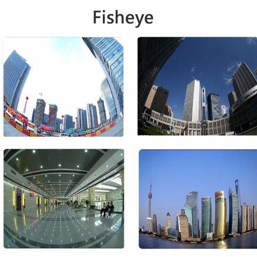 3 Lentiles de smartphone camera pour les effets de photographe ( Grand Angle, Macro, Fisheye )