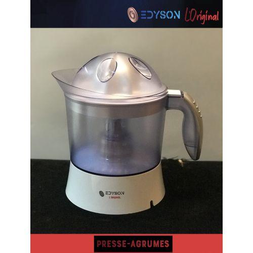 """edyson Presse Agrumes Rotation Double Sens """"Entièrement Détachable"""" 1L 40W Blanc"""