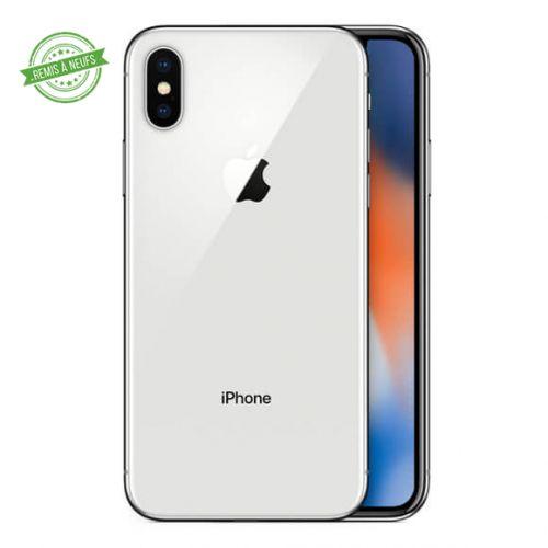 IPHONE X 64 GO silver GREY RECONDITIONNE GRADE A+