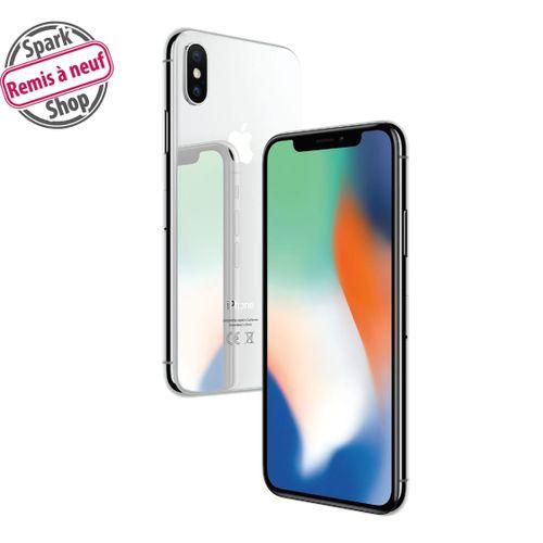 """IPHONE X 64 GO - 5,8"""" 64Go Blanc - Remis à Neuf"""