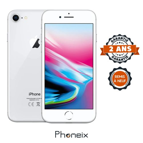 PHONEIX IPHONE 8 256GB, SILVER – Reconditionné