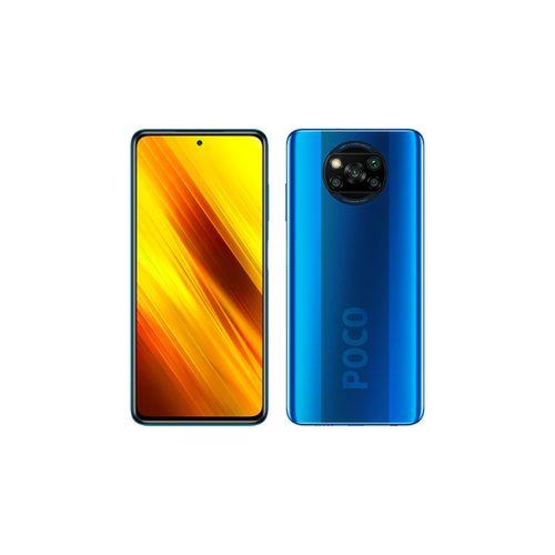Mi POCO X3 - 6.67 ' FHD + 128 Go- 6Go - Snapdragon 732G - 64 MP- Blue