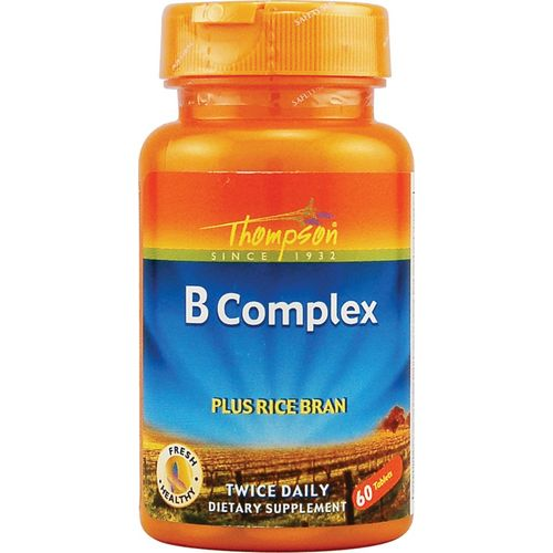 Thompson Vitamine B Complex > 60 Capsules > [ENERGIE+ SYSTEME NERVEUX] > MADE IN USA