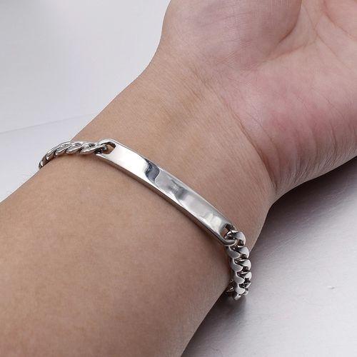 Bracelet en Acier Inoxydable - Argenté