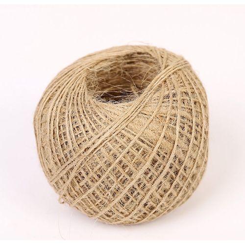 Diy Manual Twine Rope Craft Jute Cord Hemp Home Fabric Cords Wrap Decor
