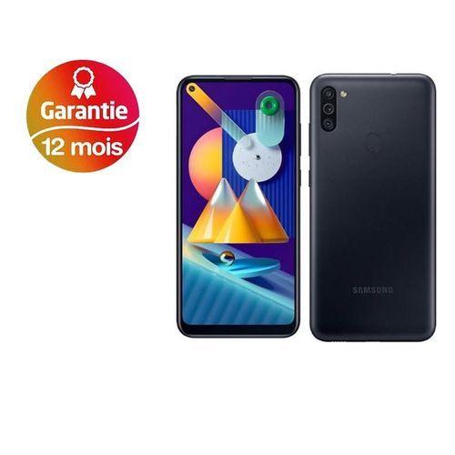 """Galaxy M11 6.4"""" (32Go, 3Go) Android 13MP+2MP+5MP/8MP - Noir"""