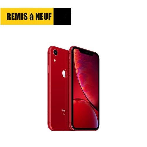"iPhone XR, 6.1"", 64Go - Rouge Remis à Neuf"