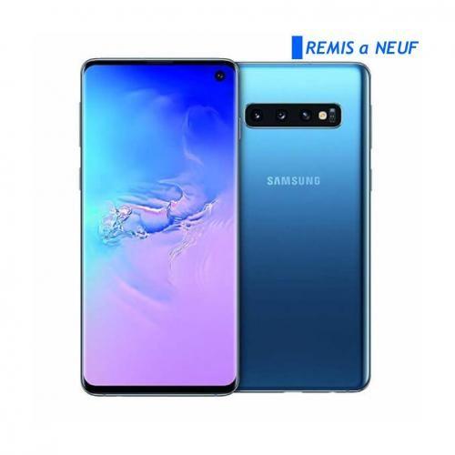 Galaxy S10 Plus Bleu 128 Go/8Go - Remise à neuf