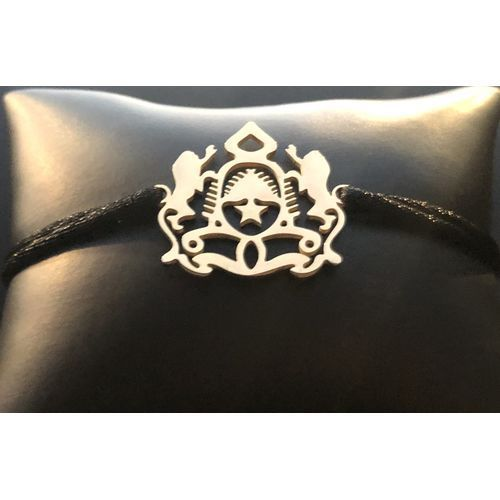 Bracelet Trône Noir Doré + Boite de Cadeau Offerte