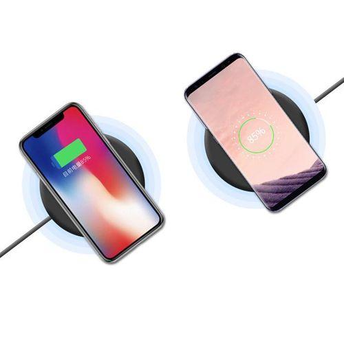 Bakeey 10 ports USB Qi Wireless Desktop Chargeur Socket Power Strip pour iPhone X S8 S9 8 Plus