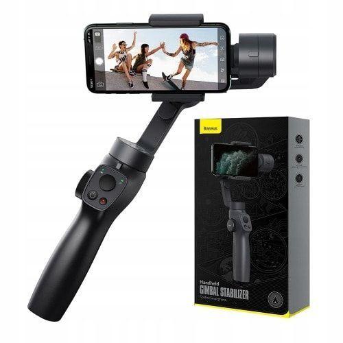 Gimbal Stabilizer 3-Axes avec traction de mise au point et Zoom pour la caméra