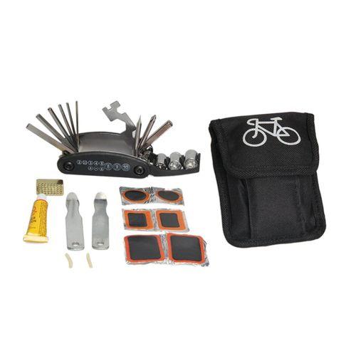 CO Location de vélo Kit De Réparation de Pneus Set de pliage Sac portable outil clé hexagonale-