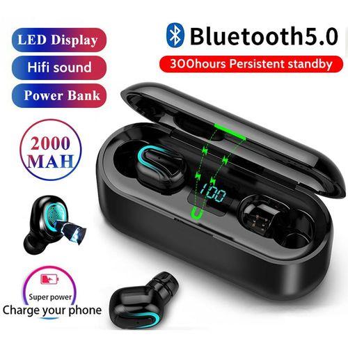 No Brand Bluetooth Earphone Wireless Headset HIFI Headphones