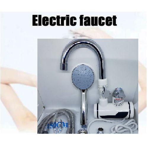 Robinet Chauffe-eau électrique Douche et cuisine sans réservoir instantané chaud