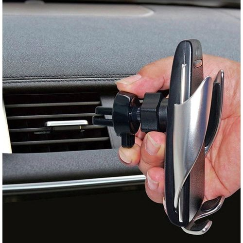 Chargeur sans fil et support pour téléphone de voiture