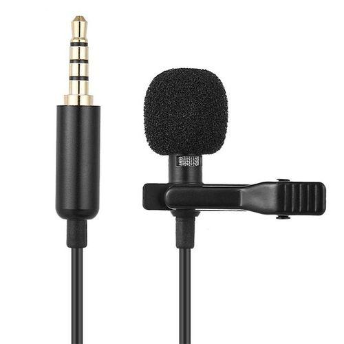 Microphone PROFESSIONNEL, AUX, Cable 1,5 m, Voix Hi-Fi , Enregistrement audio et vidéo
