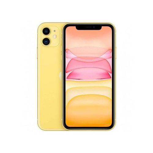 """iPhone 11, 6.1"""", 4Go, 128Go - Jaune"""