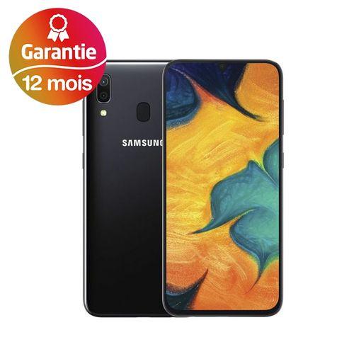 "Galaxy A30, 6.4"", 4Go, 64Go - Noir - Garantie 1 an"