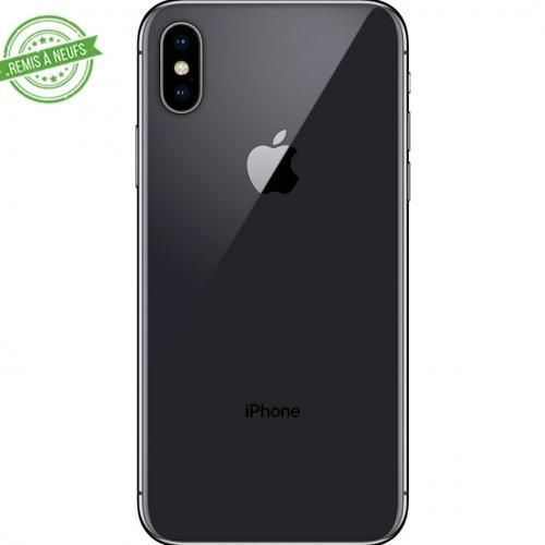 IPHONE X 64 GO Silver Black RECONDITIONNE GRADE A+ REMIS A NEUF