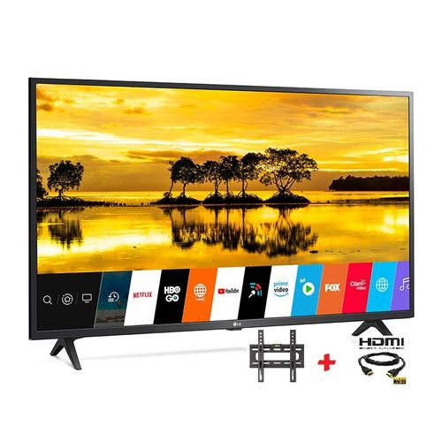 """32"""" Smart TV WEBOS Série 6+HDR+Récepteur intégré +TNT +Support tv+Câble HDMI"""