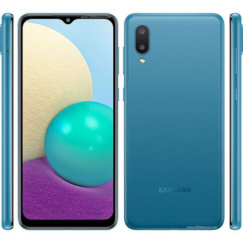 "Galaxy A02 ( 3GB RAM + 32GB ROM ) - Dual Sim- 6.5"" 5,000 mAh - Bleu"