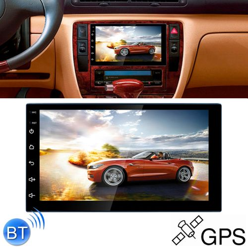 Universal AutoRadio 7'' - Android 8.1 - FM - AM - Bluetooth - WiFi & GPS