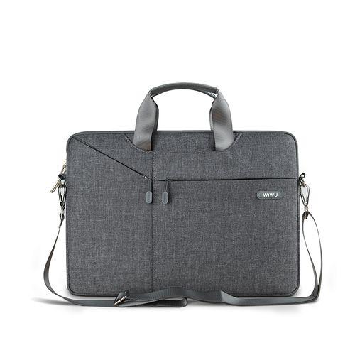 Laptop Bag Case For MacBook Air 14.1 13.3 Notebook Bag 17.3 15.6 15.4 Gearmax Waterproof Messenger Bags(Black)(fukela)