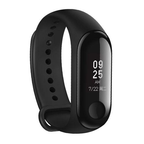 XIAOMI Mi Band 3 Fitness Tracker Smart Bracelet, 50m Swim Waterproof - Black