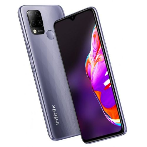 """Hot 10S 6.82"""" (4Go, 128Go) 48MP+2MP/8 MP Android - Violet"""