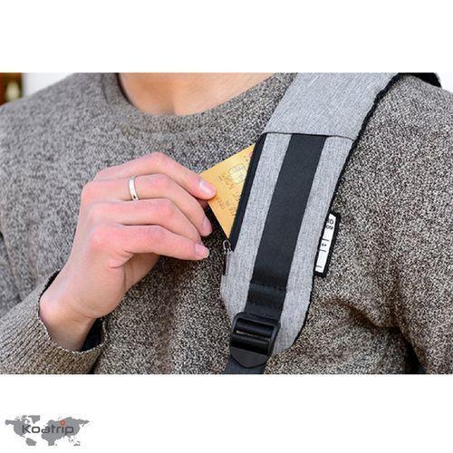 None Sac à Dos Anti-Vol pour Ordinateur Portable Appareil Photo Voyage Avec Port de Charge USB