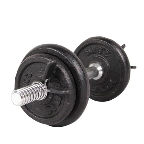 2Pcs Barbell Gym Weight Bar Dumbbell Lock Clamp Spring Collar Clips 25mm Black x